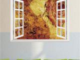 Glow In the Dark Wall Mural Window Amazon Open Window Wall Decal Sticker Vintage Grunge