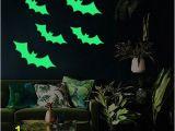 Glow In the Dark Wall Mural Window Pin On Halloween Kids Room Décor