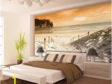 Glow In the Dark Wall Mural Window Vlies Poster Wandbild Tapete Fototapete Wasser Meer Strand