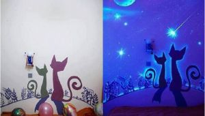 Glowing Murals for Walls Glow In the Dark Paint Wall Murals
