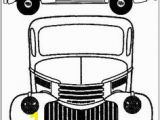 Gmc Coloring Pages Instant Download Vintage Truck Printable Coloring Page