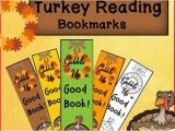 Gobble Gobble Coloring Pages Thanksgiving Bookmarks Turkey Reading