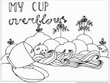 God is My Shield Coloring Page My Cup Overflows Coloring Page Coloring Pages