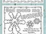 God Made Me Coloring Page 1307 Best Sunday School Coloring Pages Images