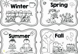 God Made the Seasons Coloring Pages Seasons Coloring Pages Preschool the Year Sheets 4 Page Color