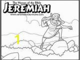 God told Jeremiah What to Write Coloring Page 36 Best Bible Jeremiah Images