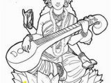 Goddess Saraswati Coloring Pages 21 Fresh Goddess Saraswati Coloring Pages Pexels