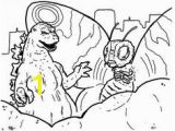 Godzilla 2014 Coloring Pages 59 Best Lineart Godzilla Images On Pinterest