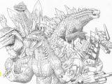 Godzilla King Of the Monsters Coloring Pages 2019 Disegno Da Colorare Godzilla Squadra Godzilla 10