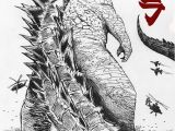 Godzilla King Of the Monsters Coloring Pages Godzilla King Of Monsters by Xavison On Deviantart