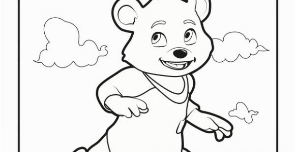 Goldie and Bear Coloring Pages 15 New Gol and Bear Coloring Pages