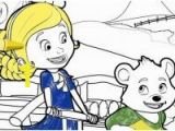 Goldie and Bear Coloring Pages Lovely Gol and Bear Coloring Pages Coloring Pages