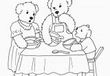 Goldilocks and the Three Bears Coloring Page Goldilocks and the Three Bears Coloring Page at