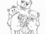 Goldilocks and the Three Bears Coloring Pages Preschool Coloring Pages Fair Goldilocks and the Three Bears Color