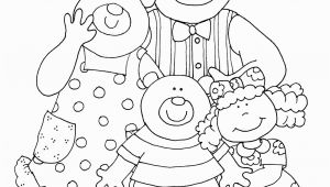 Goldilocks and the Three Bears Coloring Pages Preschool Goldilocks and the Three Bears