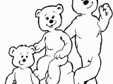 Goldilocks and the Three Bears Coloring Pages Preschool Goldilocks Coloring Page Of the Three Bears
