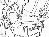 Goldilocks and the Three Bears Coloring Pages Preschool Goldilocks Puppet Coloring Pages Coloring Pages
