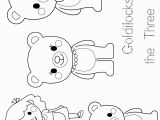 Goldilocks and the Three Bears Coloring Pages Preschool Preschool Enchantment Unit Study Week 3 Goldilocks Rock