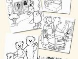 Goldilocks and the Three Bears Coloring Pages Preschool top 10 Free Printable Goldilocks and the Three Bears