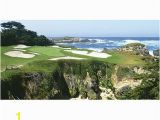 Golf Course Wall Murals Biggies Wall Mural 60 X 120 Pebble Beach Fice Depot