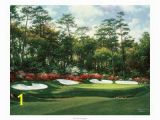 Golf Wall Murals Augusta Beautiful Augusta National Golf Club Artwork for Sale Posters and