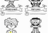 Gonoodle Coloring Pages Champ Halloween Masks Free Printables Gonoodle Blog