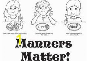 Good Manners Coloring Pages for Preschoolers 96 Best Good Manners for Kids Images