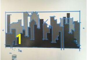 Gotham City Wall Mural 106 Best Everett S Room Images
