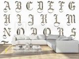 Gothic Wall Murals Uk Me Val Gothic Alphabet Collection Wall Mural