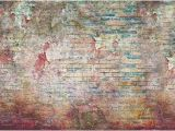 Graffiti Brick Wall Mural Extra Large Brick Wall Graffiti Art Wallpaper Vinyl 3d Wall Sticker Wall Decor Graffiti Street Art 3d Wall Mural