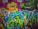 Graffiti Brick Wall Mural Pemdas Rap Rhymenlearn Boss Board