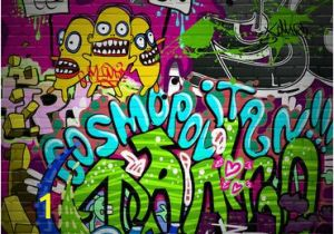 Graffiti Brick Wall Mural Pemdas Rap Rhymenlearn Boss Board