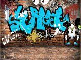 Graffiti Murals for Bedrooms Beibehang Wallpaper for Walls 3 D Custom Mural Wallpaper Graffiti