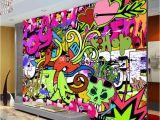 Graffiti Murals for Bedrooms Graffiti Boys Urban Art Wallpaper Custom Wall Mural Street
