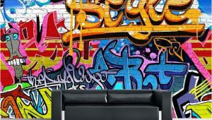 Graffiti Wall Mural Decals Graffiti Paper Wallpaper In 2019 for Kaley Pinterest