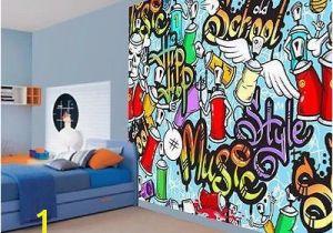 Graffiti Wall Murals Uk Details About Cool Kids Graffiti Music Style Hip Hop School