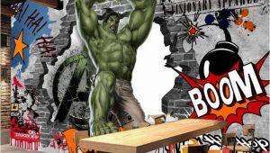 Graffiti Wall Murals Uk Vintage Graffiti Wall Mural Avengers Wallpaper Custom 3d Hulk