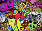 Graffiti Wall Murals Wallpaper Funky Wall Art Wall Mural