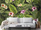 Graham and Brown Wall Mural Couture Jungle Flora Mural Graham & Brown Uk