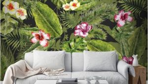 Graham and Brown Wall Mural Couture Jungle Flora Mural Graham & Brown Uk