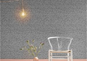 Graham and Brown Wall Mural Dots Black & White Wallpaper Grahambrowneire