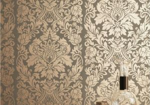 Graham and Brown Wall Mural Graham & Brown Copper Gloriana Wallpaper 33 329 In 2020