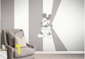 Graham and Brown Wall Mural Mickey Mischief Monochrome Bespoke Mural