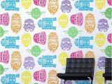 Graham and Brown Wall Mural Star Wars Neon Head Wallpaper Graham Brown