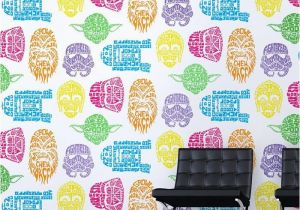 Graham and Brown Wall Mural Star Wars Neon Head Wallpaper Graham Brown