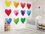 Graham and Brown Wall Murals Graham & Brown Colour My Heart Wall Ready Made Mural
