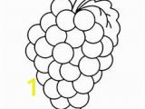 Grape Coloring Pages to Print Grab Your Fresh Coloring Pages Grapes Free