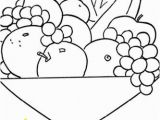 Grape Coloring Pages to Print Printable Food Coloring Pages