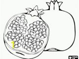 Grape Coloring Pages to Print the Pomegranate is A Fruit that Has An Interior Filled with