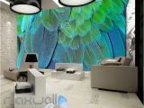 Graphic Design Wall Murals Graphic Design Multicolour Feathers Art Wall Murals